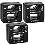 <span class='highlight'><span class='highlight'>Katzco</span></span> Black Precision Demagnetizers and Magnetizers - 3 Pack - for Screwdrivers, Small Tools, Small and Big Screws, Drills, Drill Bits, Sockets, Nuts, Bolts, Nails, and Construction Tools