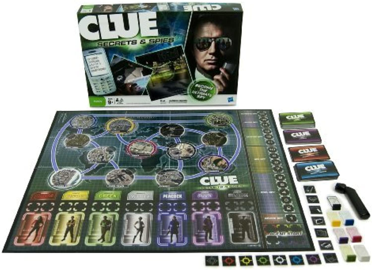 Clue Secrets and Spies by Clue
