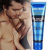 Ampliación masculina, Crema de masaje de mejora, Crema extensora masculina, Masculino más grueso, Ayuda más larga, Ampliación del extensor de partes privadas(50ml)