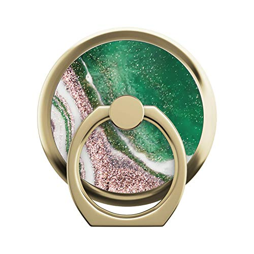 iDeal Of Sweden Magnetic Ring Mount (Handy-Ringhalter und Ständer) (Golden Jade Marble)