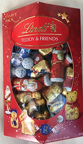 Lindt Teddy & Friends Family confezione da 400g