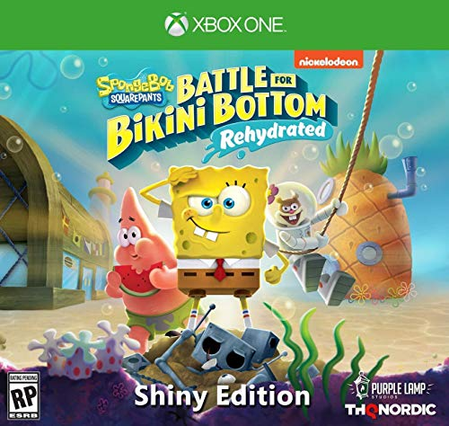 [Xbox One] Spongebob Squarepants: Battle for Bikini Bottom - Rehydrated - Shiny Edition - $48.23 at Amazon