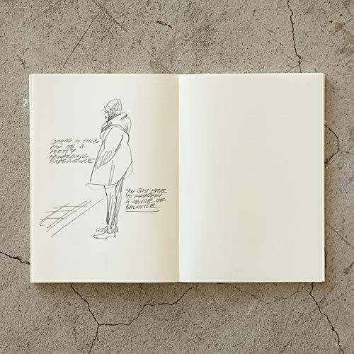 『デザインフィル ミドリ ノート MDノート A5 ジャーナル ドット方眼 15259006』のトップ画像