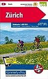 KuF Schweiz Radkarte 06 Zürich 1 : 60 000: Mit Stadtplan (Kümmerly+Frey Velokarten)
