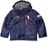 US Polo Association Boys' Toddler Fashion Outerwear Jacket (More Styles Available), Primo Navy, 2T