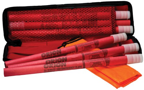 Orion Safety Products 6030 Original 30-Minute Highway Flare Kit, (Pack of 6)