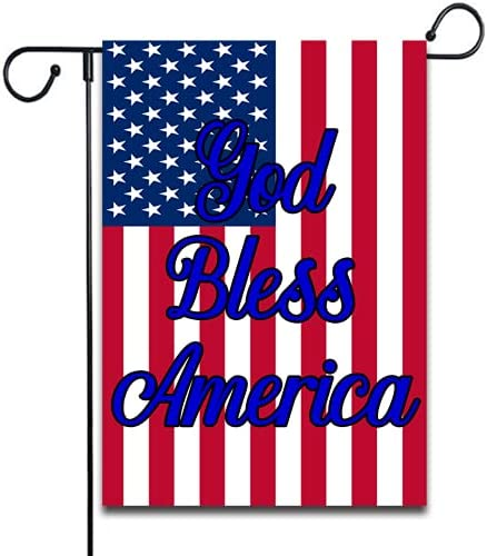 SSanyyL Reservation God Bless America Direct store Yard Sign Garden Flag Ya Country Decor