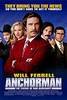 Anchorman  The Legend of Ron Burgundy Poster Movie  27 x 40 Inches - 69cm x 102cm   2004   Style C