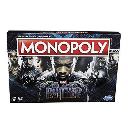 Monopoly Game: Black Panther Edition