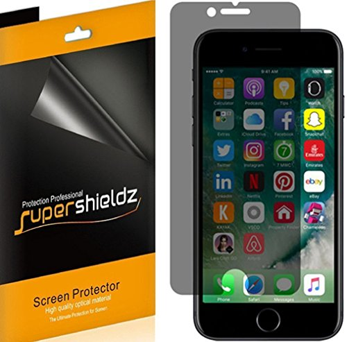 Supershieldz iPhone 8 Privacy Tempered Glass Screen Protector