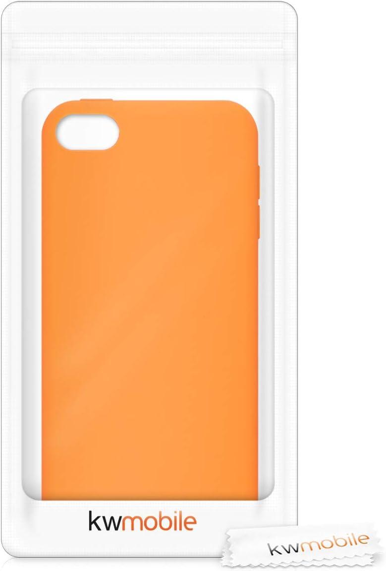 Pesca Pastello Soft-Case gommata in Morbido Silicone TPU 6a e 7a Generazione kwmobile Back-Cover Compatibile con Apple iPod Touch 6G // 7G