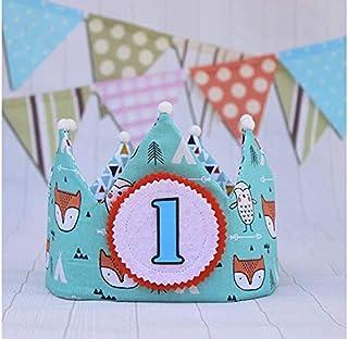 Decorazione per bambini corona di compleanno per neonati e bambini