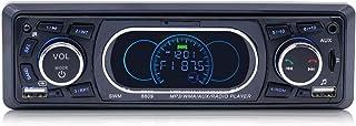 ZJJUN Electronics Video Audio 8809 Universal Car 12V Bluetooth Radio Receiver MP3 Player, Support FM with Remote Control C...