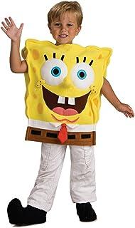 Child's Spongebob Squarepants Costume, Medium