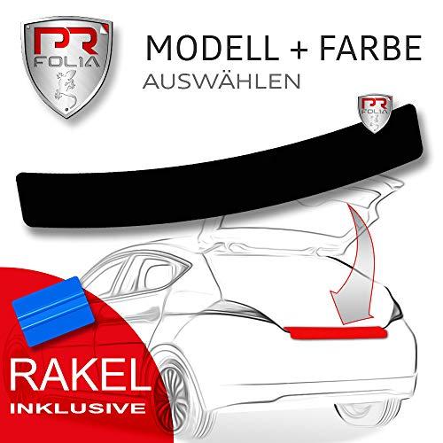 PR-Folia Ladekantenschutz für - GT86 ab Bj. 09/2012 - SCHWARZ Stoßstangenschutz Folie Lackschutzfolie inkl. Rakel
