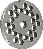 Reber 4312 a/8 - Griglia per tritacarne Reber n° 12, diametro fori 8 mm, acciaio inox