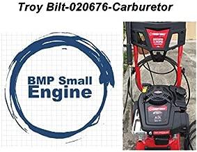 BMotorParts Carburetor Carb for Troy bilt 020676 2800 PSI 2.3 Pressure Waher