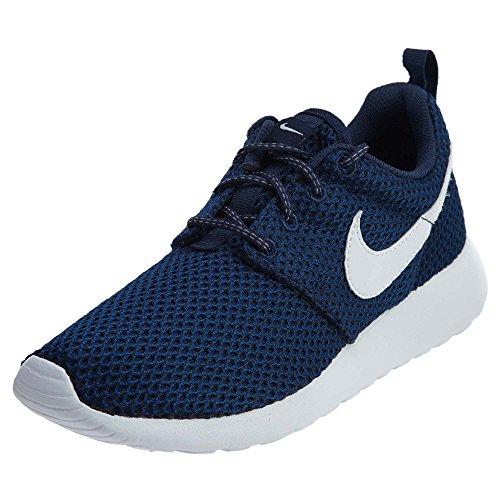 Nike Roshe One GS, Scarpe da Ginnastica Bambino, Blu (Midnight Navy/White/Gym Blue/Black), 38 EU