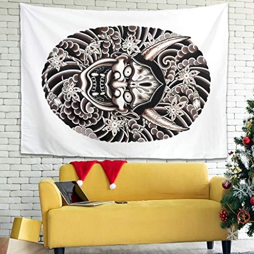 Wandbehang Tapisserie Japanisch Hanya...