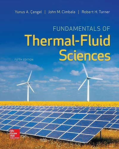 eBook Online Access for Fundamentals of Thermal-Fluid Sciences (English Edition)
