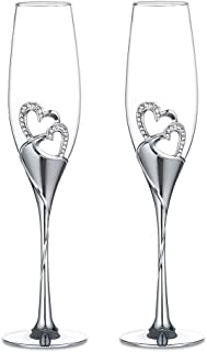 dragon heart champagne glasses
