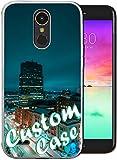 Concevez votre propre coque de téléphone en TPU transparent anti-jaunissement compatible avec LG...