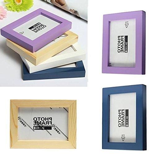 Bazaar Multi Kleur Houten fotolijst Fotoalbum Home Decor
