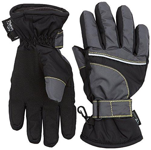 Sterntaler Jungen Fingerhandschuh Handschuhe, Schwarz (schwarz 590), 5