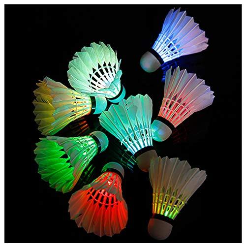 DaDong Bunte Kunststoff-LED-Licht-emittierende Badminton-Nachtlicht emittierenden Beleuchtung SHU Kugel Indoor Outdoor Sport Spielzeug