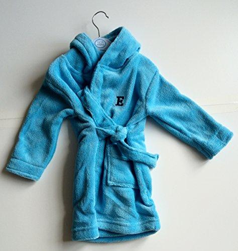 personnalisé brodée 12–18 mois Toddler Coiffeuse Cultivé Peignoir de bain (avant et arrière). Cadeau idéal.