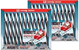 Hershey's Candy Canes - Chocolate Mint - 12 ct - 2 pk