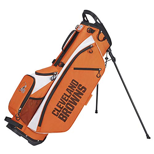 Wilson Sporting Goods Unisex's Wilson NFL Golf Bag-Carry, Cleveland,...