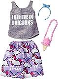 Barbie Despicable Me Unicorn Tank/Purple Skirt