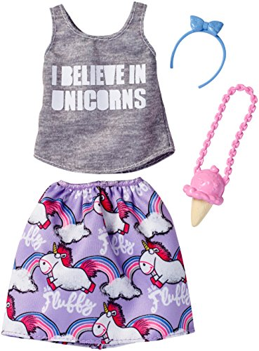 Barbie Despicable Me Unicorn Tank & Purple Skirt Fashion Pack