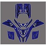 ATV Adhesivos Pegatinas gráficos for Yamaha Blaster 200 YFS200 YFS 200 1988-2001 2000 Race Marcos Ornamentales Abrigo Lleno Kits Pegatina Motocross Pegatinas