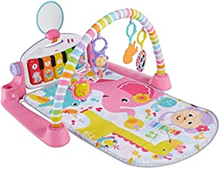 Fisher-Price Deluxe Kick & Play Piano Gym 粉色