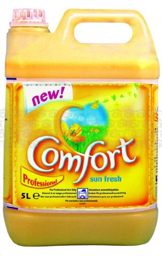 Price comparison product image Comfort Fabric Softener Sunshine 5LT Litres Professional Brand New Formula (Packaging may vary)