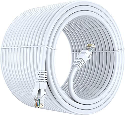 FEDUS 15m High Speed RJ45 cat6 Ethernet Patch Cable LAN Cable Internet Network Computer Cable Cord High Speed Gigabit Category 6 UTP Wires for Modem