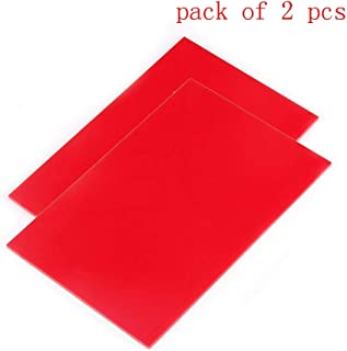 Amazon Com Red Sheets Plastics Industrial Scientific