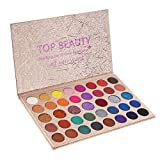 Eyeshadow Palette Makeup Matte Shimmer Metallic 39 Colors Highly Pigmented Professional Nudes Warm Natural Bronze Neutral Smoky Cosmetic Eye Shadows