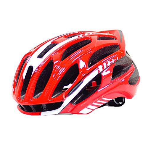 N/A. Unisex Fahrradhelm mit LED-Rücklicht, 54–62 cm, verstellbar, komfortabel, für Sport und Rollschuhlaufen, Schutzkappe