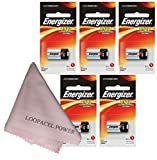 Energizer A544 6-Volt Photo Battery 5 Pack with Cloth