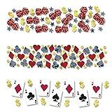 PARTY DISCOUNT Konfetti Poker Spiel
