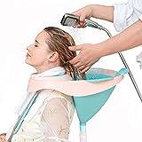Portable Shampoo Bowl, Hair Washing Tray, Foldable Hair Shampoo Basin Household, for pregnant women,Handicapped,Bedridden Patients,Elderly,Kids