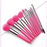20 PCS Cepillos de sombras de ojos fluorescentes Set Professional Maquillaje Pinceles para Ojos Belleza Herramientas Cosméticas Kit de maquillaje (Handle Color : I)