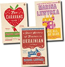 Marina Lewycka: 3 book collection pack: A Short History of Tractors In Ukrainian / Two Caravans / We Are All Made of Glue ...