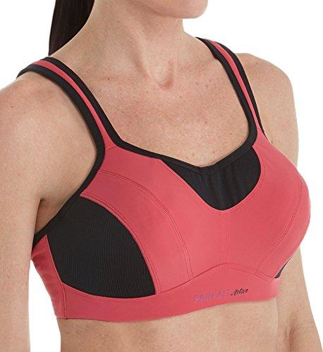 PARFAIT Women's Sports Bra 30D Claret Red, Active P5541
