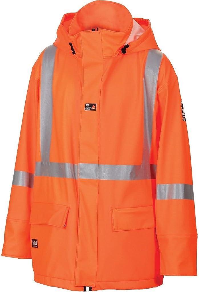 Helly Hansen Work Jacket Mens Wabush Fire Resistant XS HV Orange 70257