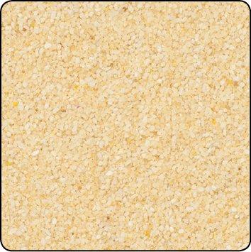 Farbsand, Dekosand farbig ca 0,5 mm. 1 KG in champanger