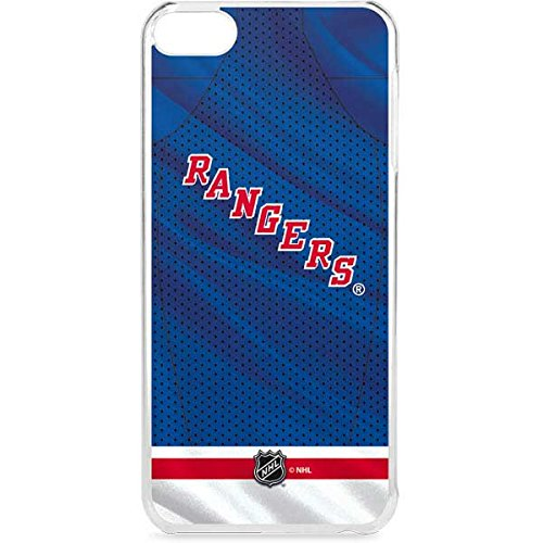 Skinit LeNu MP3 Player Case for iPod Touch 6th Gen - Officially Licensed NHL New York Rangers Home Jersey Design